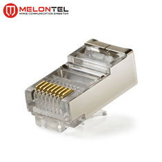China MT-5053B RJ45 Modular Plug CAT.5E Cat.6 8P8C STP Network Patch Cord Plug With Gold Plated fabriek